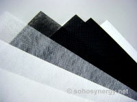 Nonwoven spunbond samples