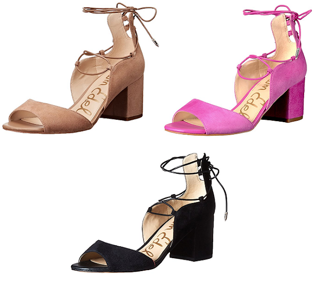 Sam Edelman Serene sandals  as low as $30, but it looks like most pairs are in the $40-$50 range (reg $120)!