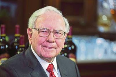 Sanggup bayar RM14 juta untuk makan tengahari bersama Warren Buffett