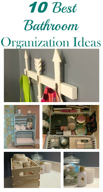 I am bringing my 10 best bathroom organization tips, that are affordable and DIY friendly.