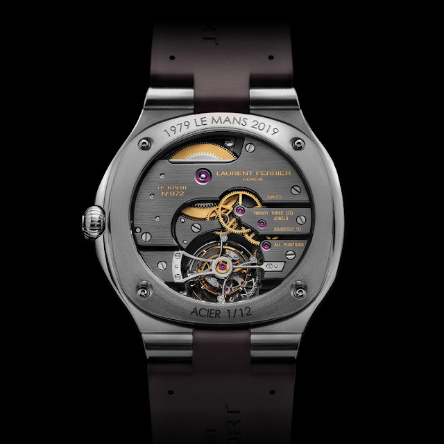 Laurent Ferrier Tourbillon Grand Sport, movement side