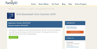 Franklin Girls Basketball Clinic - Jun 24-27