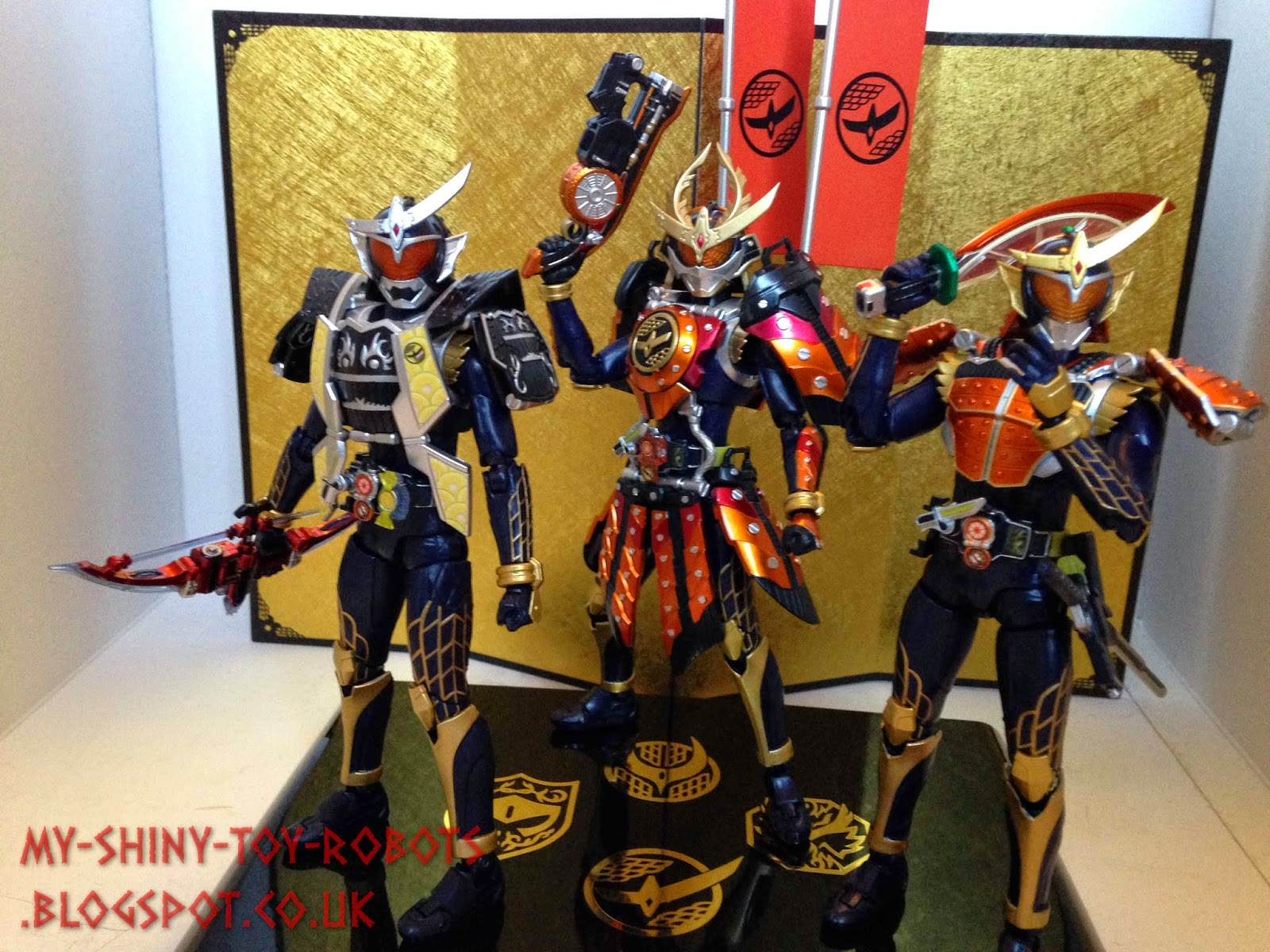 The forms of Kamen Rider Gaim