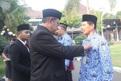 232 ASN Kota Mojokerto Terima Anugerah Satya Lancana Karya Satya
