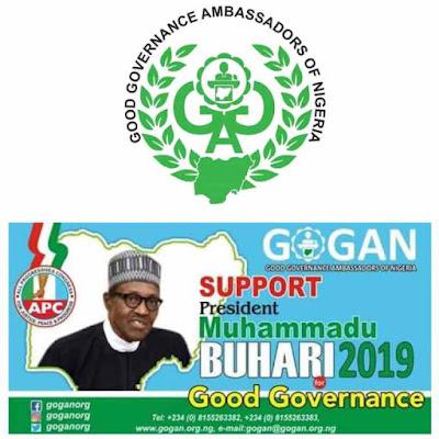 Good Governance Ambassadors Of Nigeria (GOGAN), A Project Beyond 2019