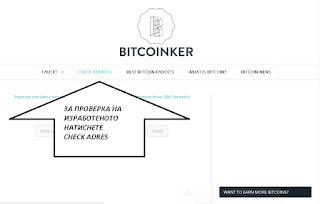 Bitcoinker - теглене на биткойни