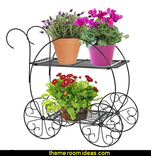 Two Tiered Garden Cart
