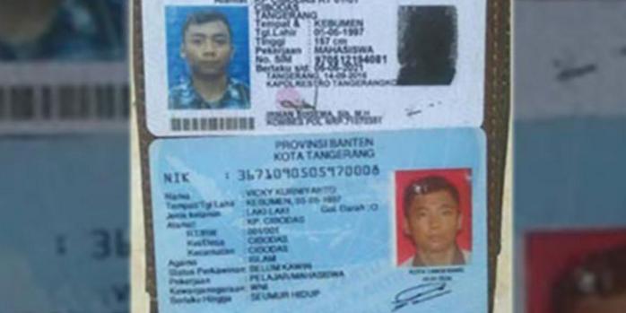 KTP Hilang, Vicky Sempat Dikira Pelaku Bom Kampung Melayu