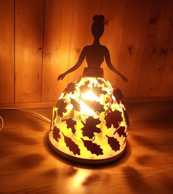 lampe de chevet princesse pour petite fille