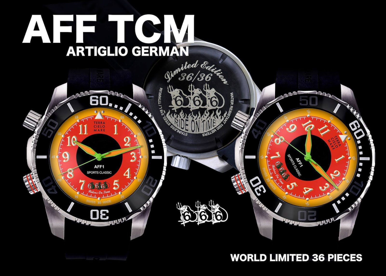 AFF1 オリジナル TCM  666 Limited  36  PRICE   388800Yen