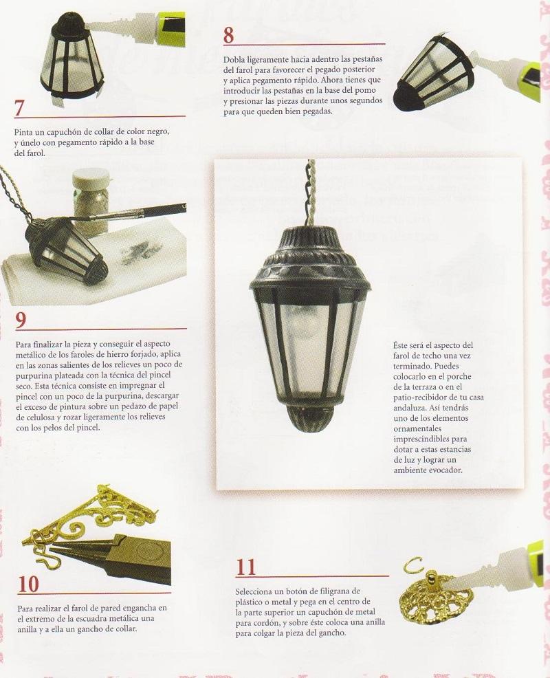 DIY- Como Fazer Uma Luminária Com Luz Elétrica Para  a Casa da Barbie - Passo a Passo