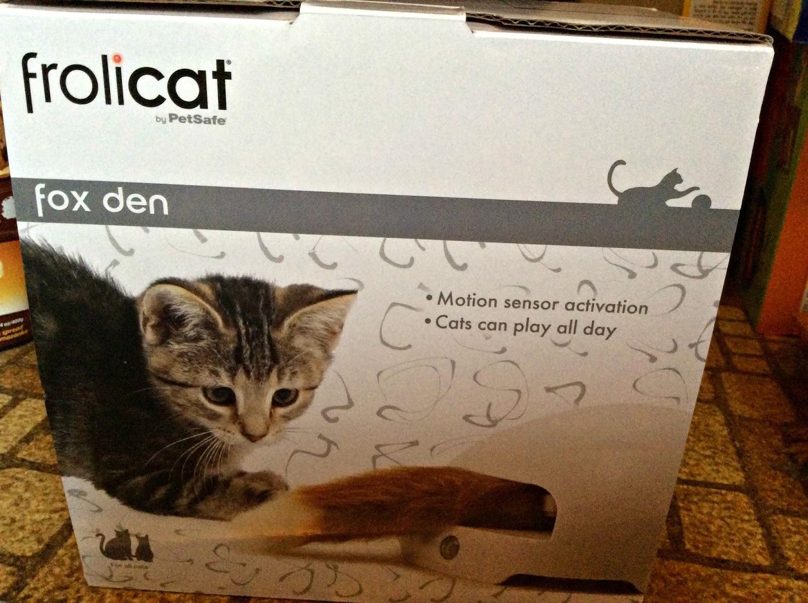 Frolicat Fox Den Cat Toy