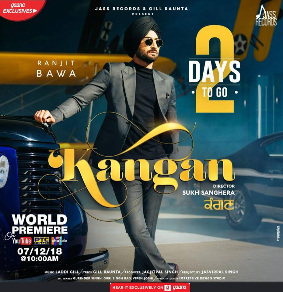 Kangan  Ranjit Bawa  new song