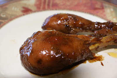 Sweet and Sticky Asian Drumsticks