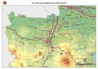 Peta Dunia Lengkap: Peta Kabupaten Bogor