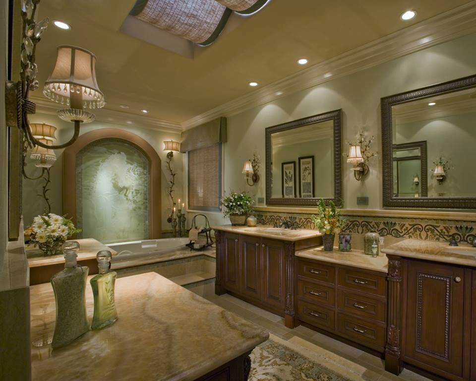 28 modern bathroom design trends for 2016 with amazing for Ranch style bathroom ideas