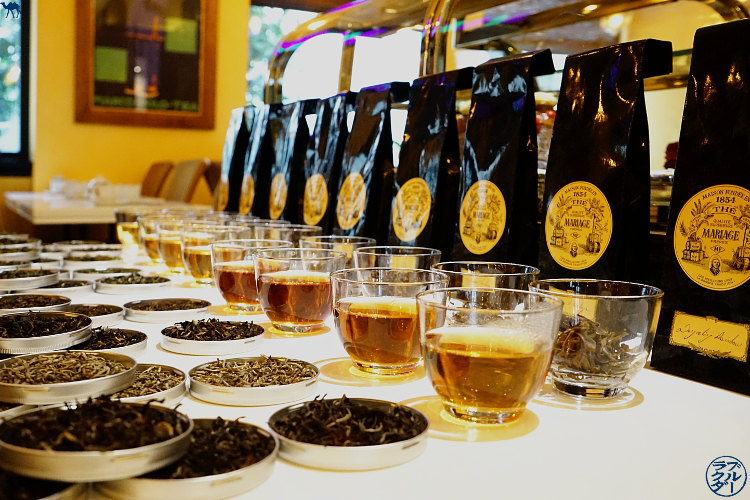 Le Chameau Bleu - Tea Club dédié au Thé Darjeeling de la Maison Mariage Frères Paris