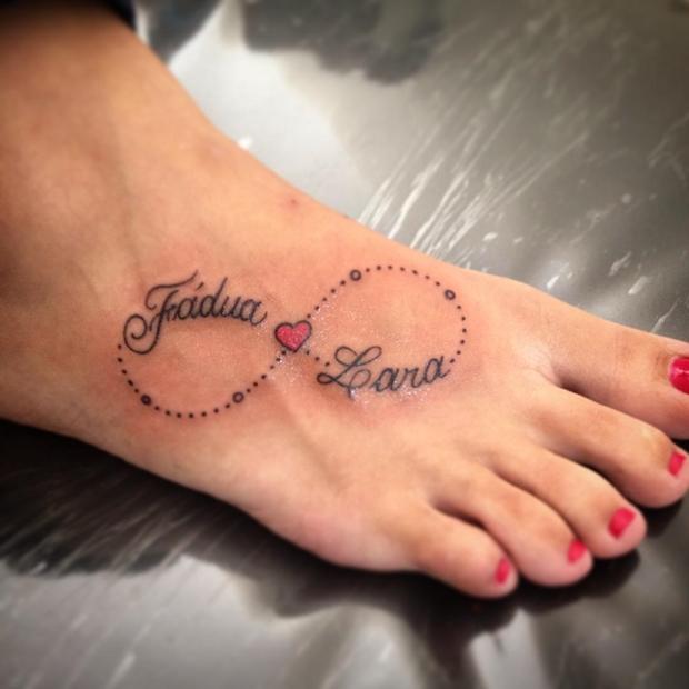 60 Ideas Para Tatuajes Del Infinito Con Nombre Y Letras Belagoria