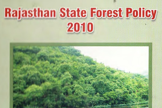 Rajasthan State Forest Policy 2010