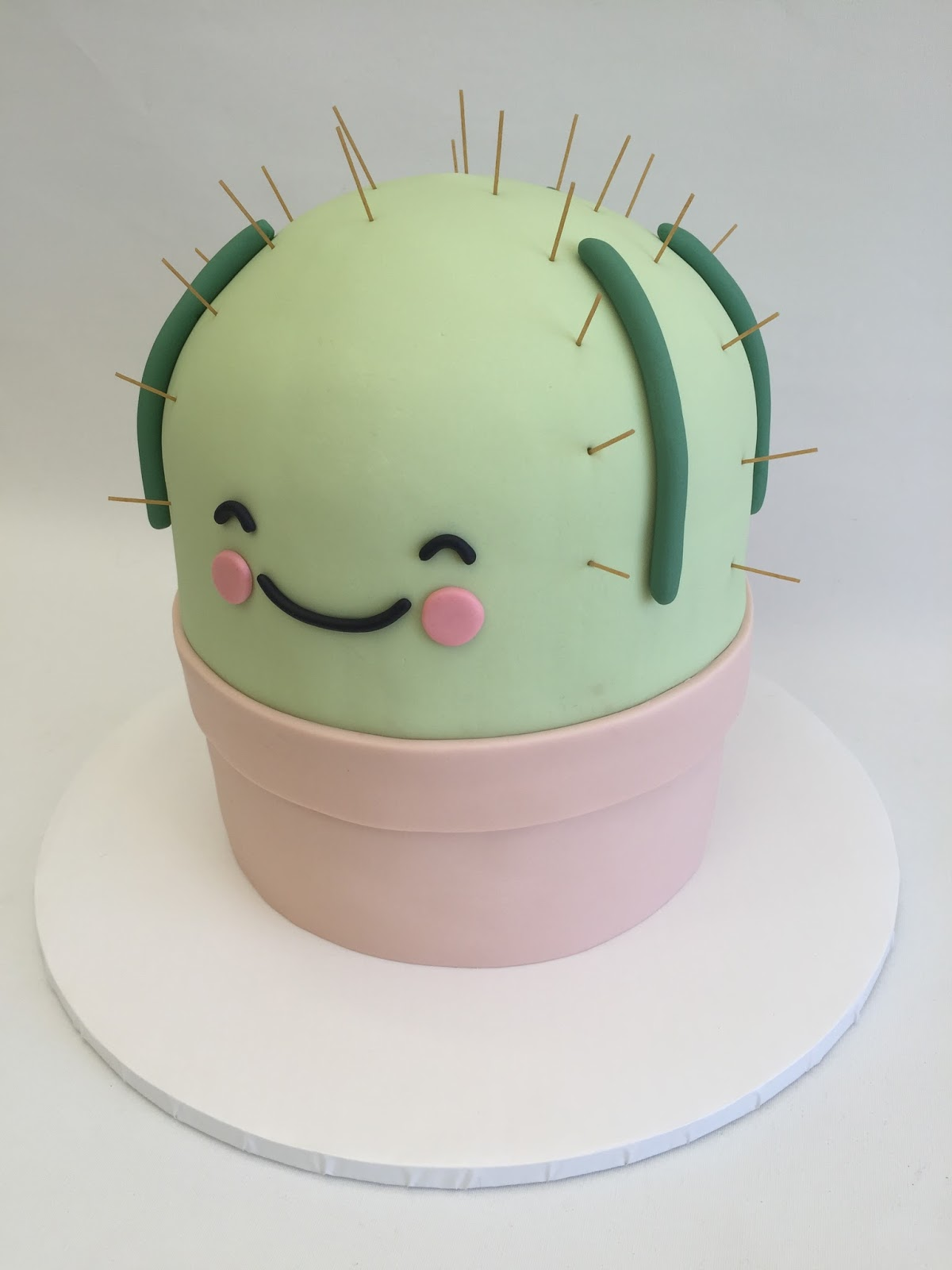 My Sweet Fancy Cakes: Cactus Baby Shower Cake