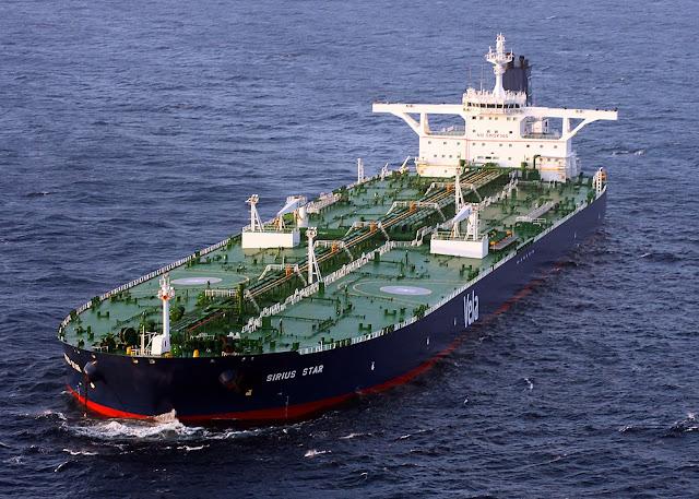 jenis kapal tanker bermuatan minyak