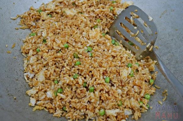 Dapur Mahamahu Resepi Nasi Goreng Salmon Buatan Sendiri Maha Mahu