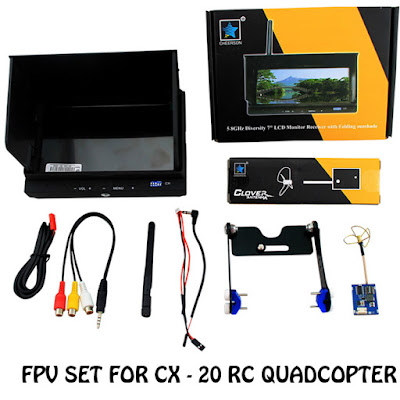 cheerson cx-20 auto-pathfinder FPV set