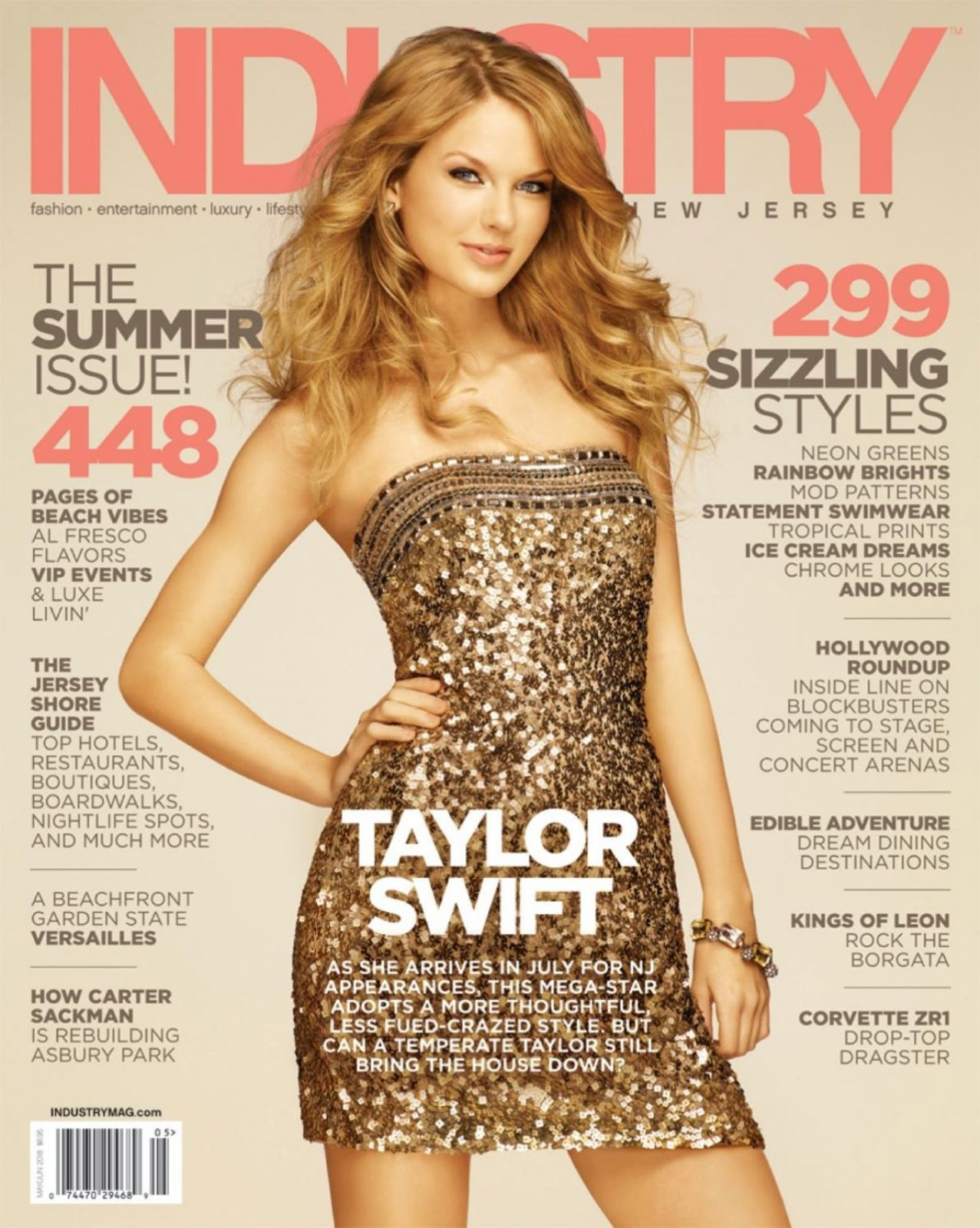 Taylor Swift – Industry New Jersey Magazine May/June 2018