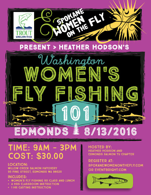 Bainbridge Island - Trout Unlimited Women's Fly Fishing 101 Event