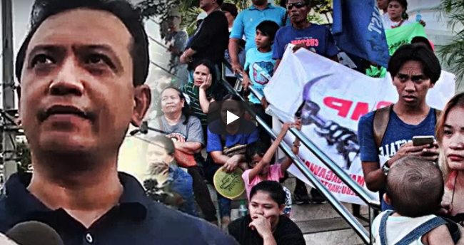 LOOK: Trillanes Proud Na Proud Daw Sa Rally! Humirit Pa Para Kay Pangulong Duterte