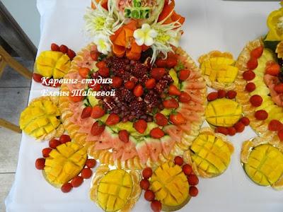 фруктовые блюда нарезки южно-сахалинск