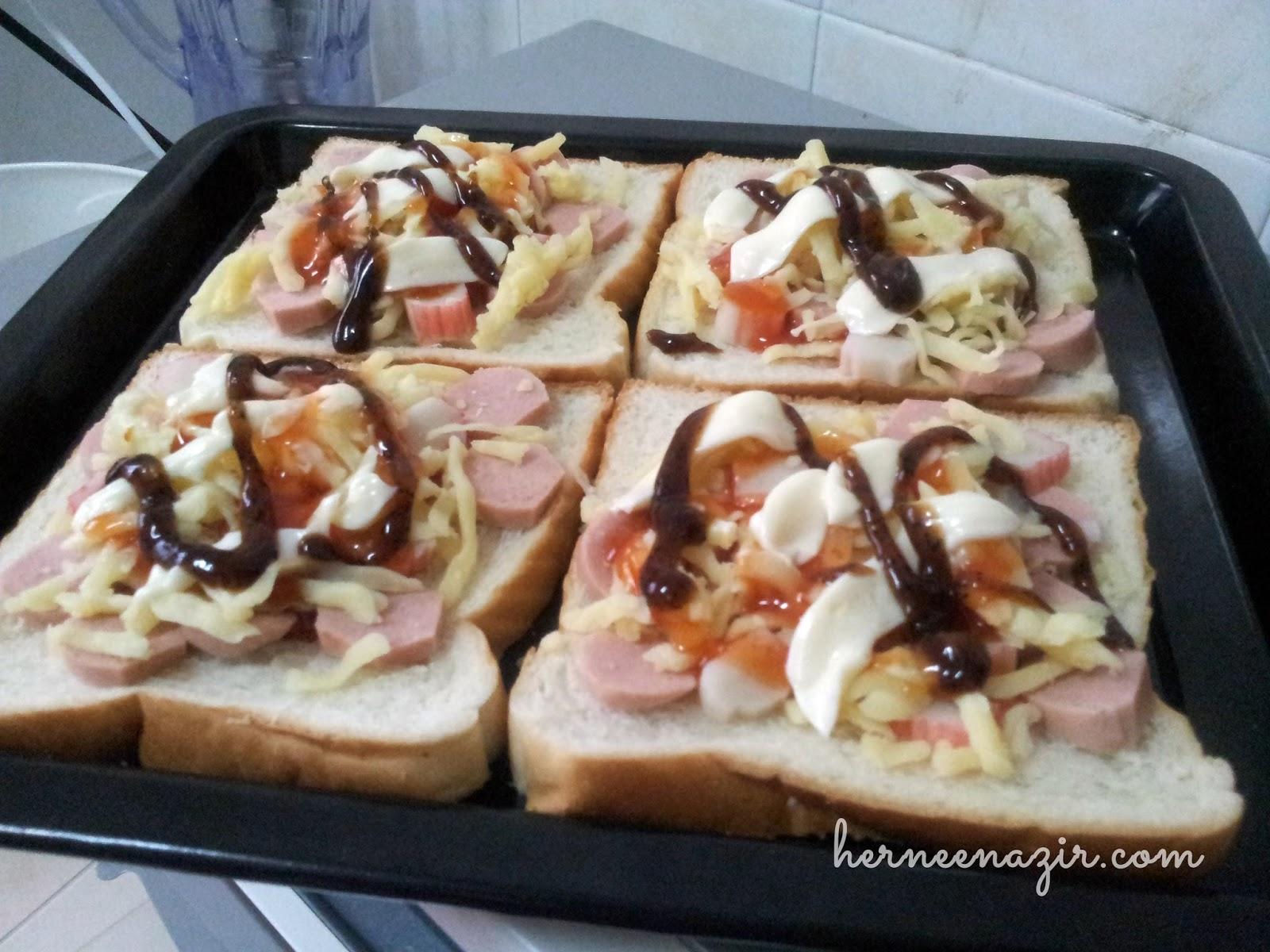 Ddhn Resepi Homemade Pizza Roti Gardenia Yang Mudah Dan