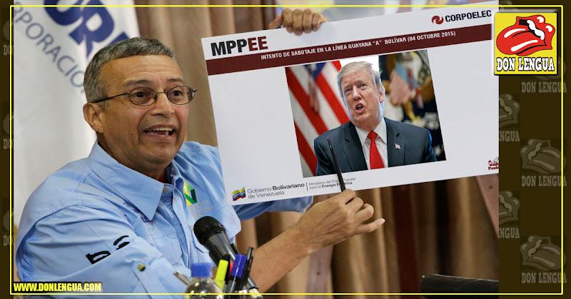Motta Domínguez culpa ahora a Donald Trump de las fallas eléctricas en Anoátegui