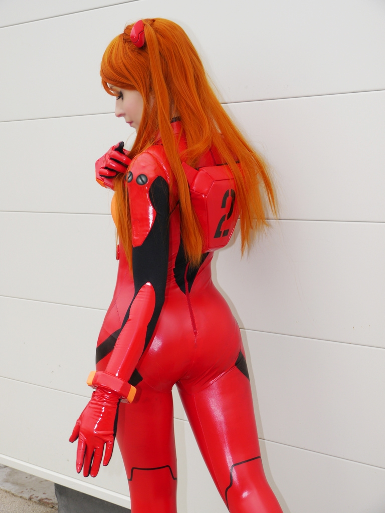 Evangelion plugsuit cosplay