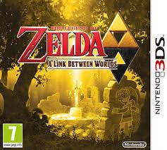Zelda: A Link Between Worlds 3DS, español, mega