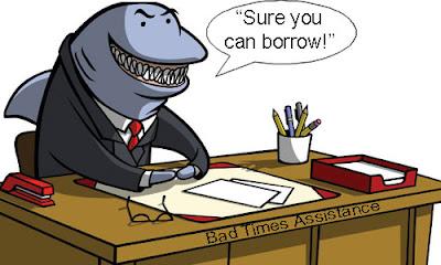 Loan Shark เครื่องหมายของเงินกู้นอกระบบ
