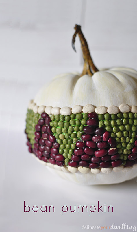 Bean Pumpkin, Delineate Your Dwelling #triangles #geometric #fall