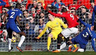 انتهت المهمة بنجاح مانشستر يونايتد يحافظ على المركز الثانى بعد الفوز على تشيلسى 2-1 فى البريميرليج