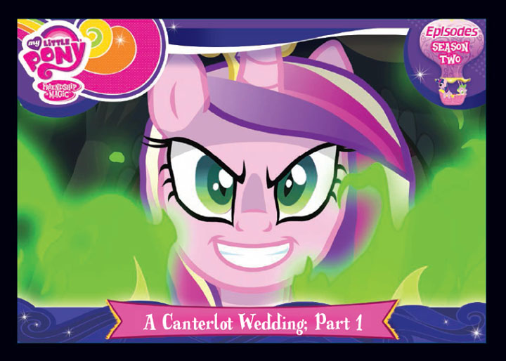 My Little Pony A Canterlot Wedding Part 1 Series 3 Trading Card