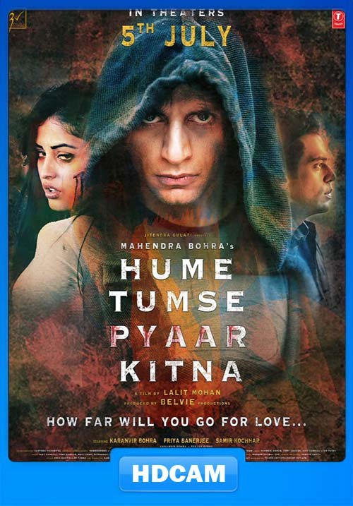 Hume Tumse Pyaar Kitna 2019 720p Hindi preDVDRip x264 | 480p 300MB | 100MB HEVC Poster