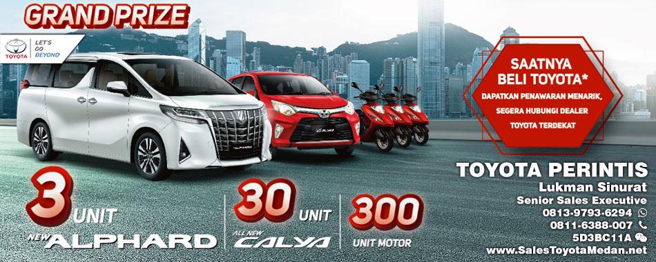 Promo Dealer Perintis Toyota Medan Hadiah Ramadhan 2018