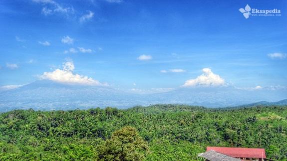 Pemandangan Gunung Sumbing & Sindoro