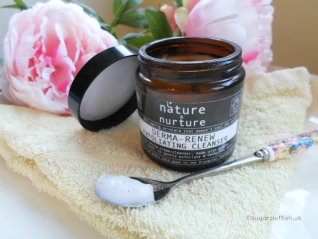 Review Nature & Nurture Derma Renew Exfoliating Cleanser