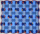 Cars Apple Core Precut Baby Quilt Kit