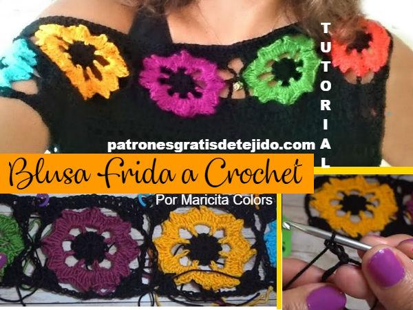 como-tejer-blusa-sin-mangas-con-flores-crochet