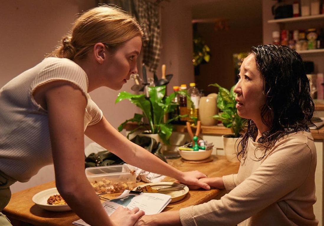 Villanelle e Eve Polastri durante la primera temporada de Killing Eve
