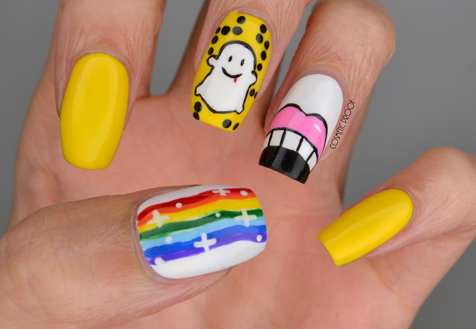 NAILS | Get Ready for Snapchat Nail Art for #ManiMonday! | Cosmetic ...