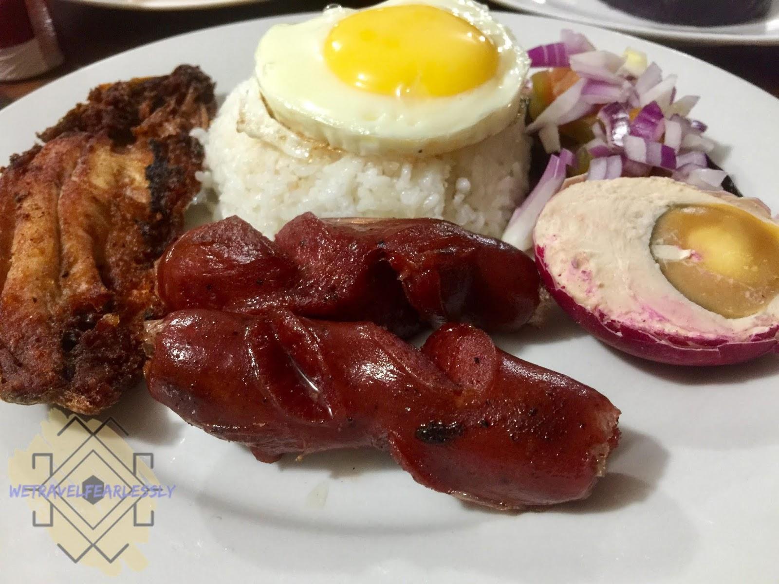 Tuki's Big Meal - Daing na Bangus and Sweet and Spicy Longganisa (PHP109) in Tuki's Food Station in Manggahan, Pasig