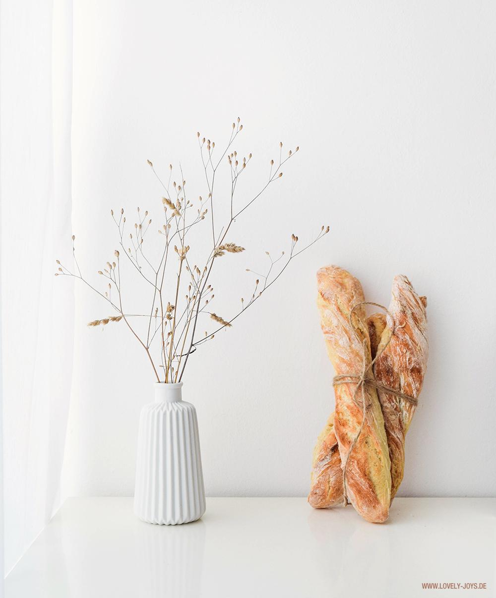 Baguettes Backen Rezept Paris Rusitkal skandinavisch Deko