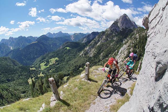 Bikebergsteigen die besten Touren in Europa MTB